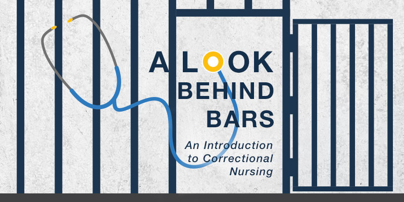 stethoscope inside of prison bars