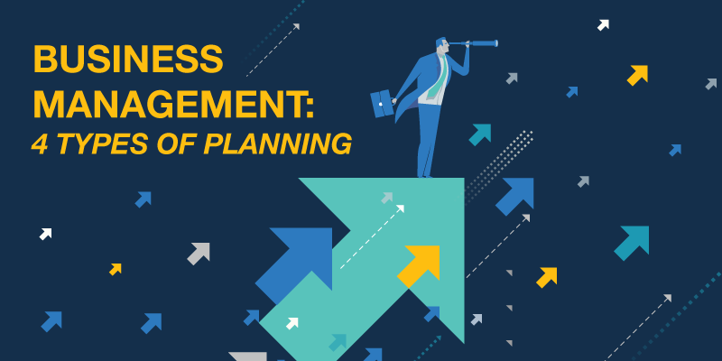 Business Management: 4 Types of Planning